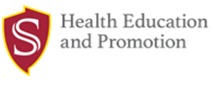 Health Education and Promotion with Stan State shield