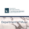CWRU Department of Music's logo