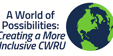 A World of Possibilities: Creating a more inclusive CWRU Event Logo