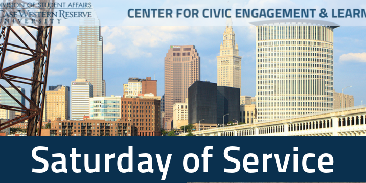 CCEL Fall Saturday of Service Event Logo