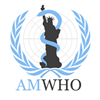 American Mock World Health Organization's logo