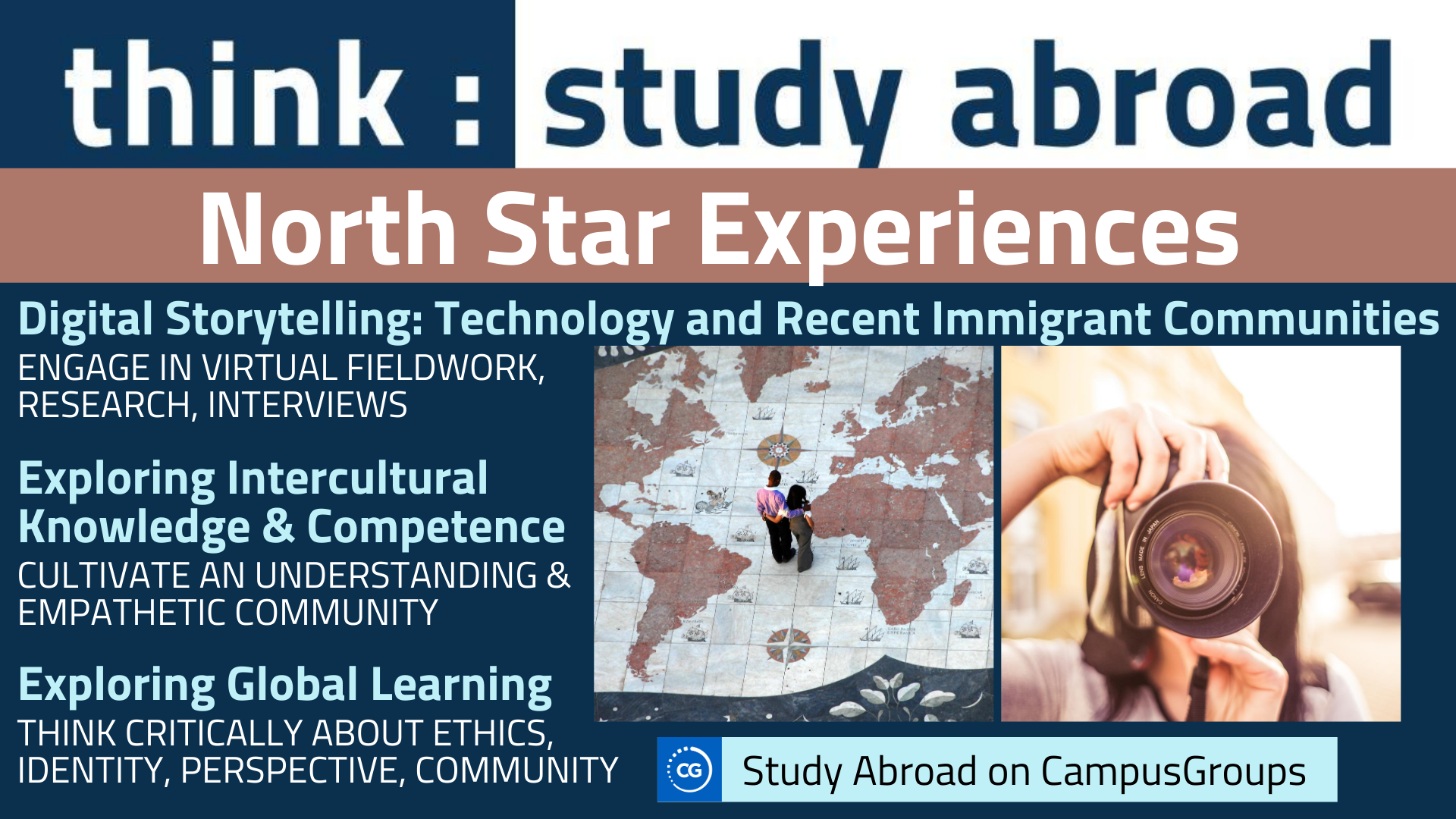 study abroad north star experiences flyer