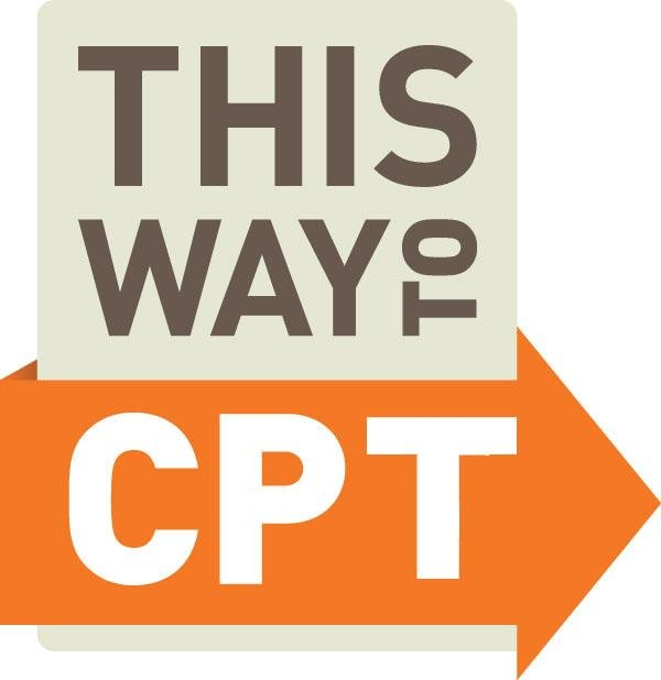 This Way to CPT sign