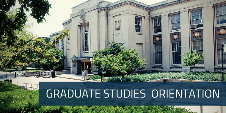 Graduate Studies Online Orientation Modules in Canvas