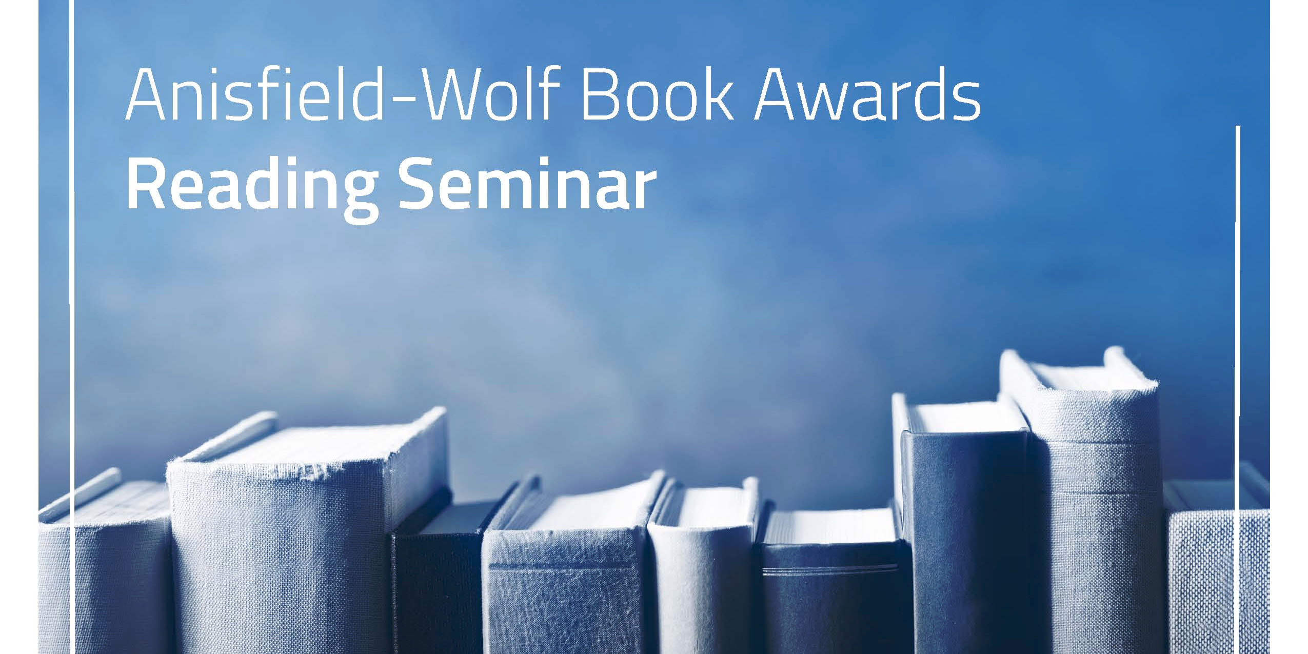 Anisfield-Wolf Book Awards Reading Seminar:  Amazing Grace: The Lives of Children and the Conscience of a Nation by Jonathan Kozol