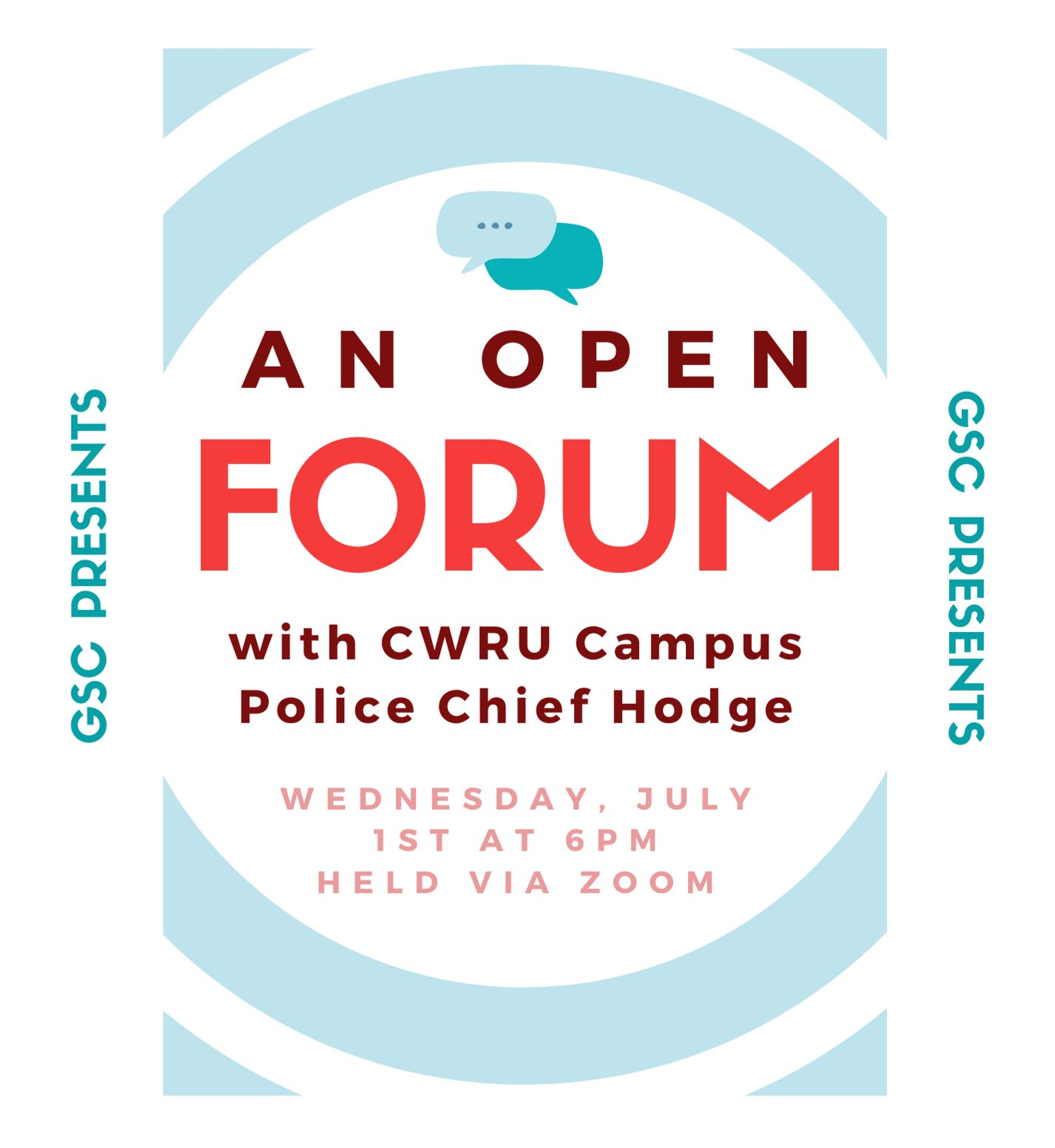 GSC's Open Forum with Police Chief Hodge