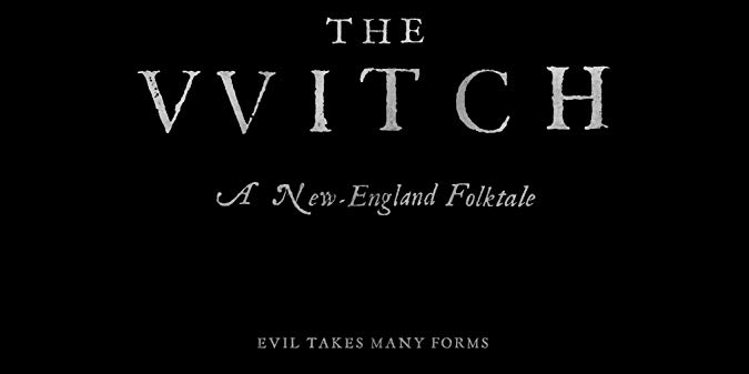A24's The Witch FREE ADMISSION
