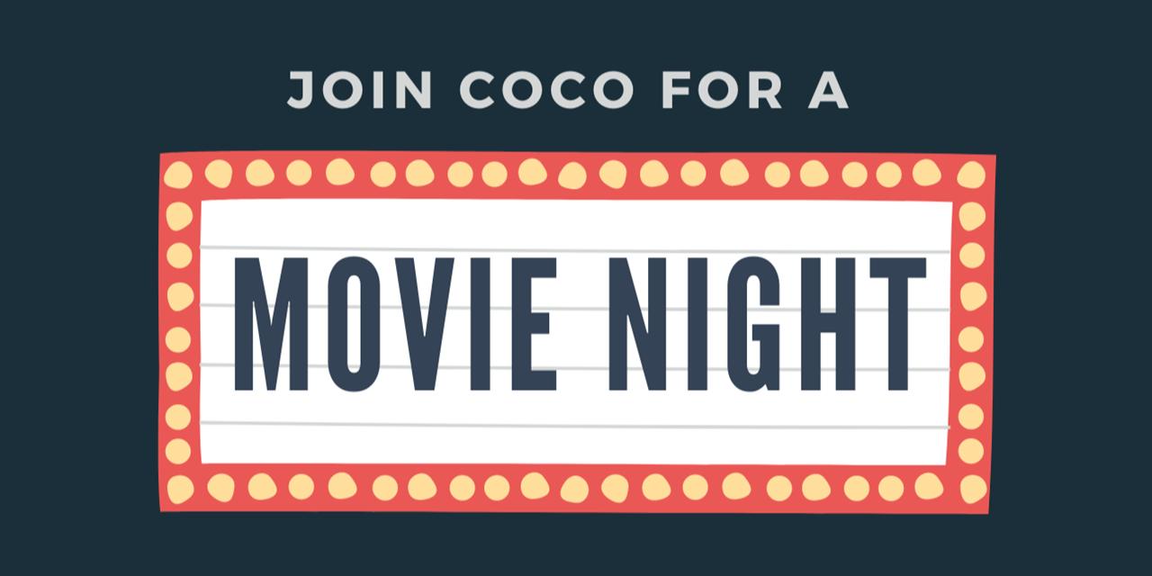 COCO Movie Night Event Logo