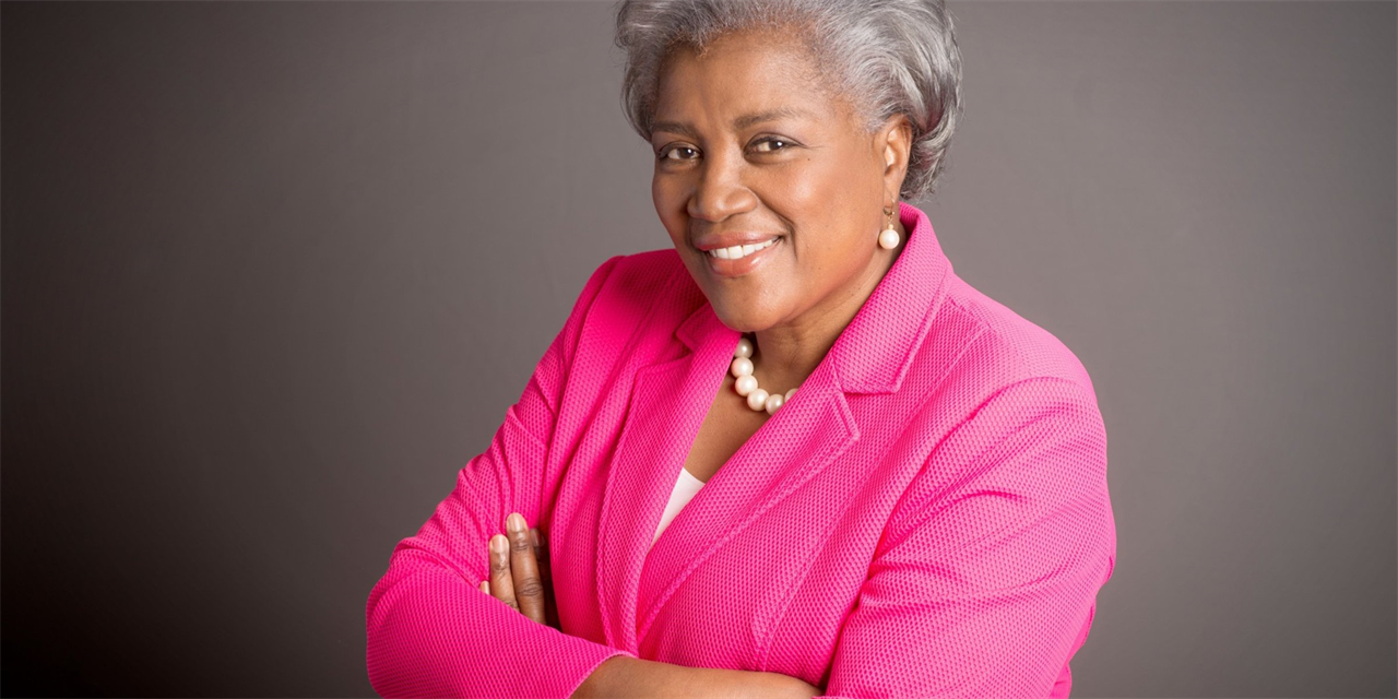 Women in Congress and their Impact on U.S. Politics with Political Strategist, Professor and Author Donna Brazile Event Logo