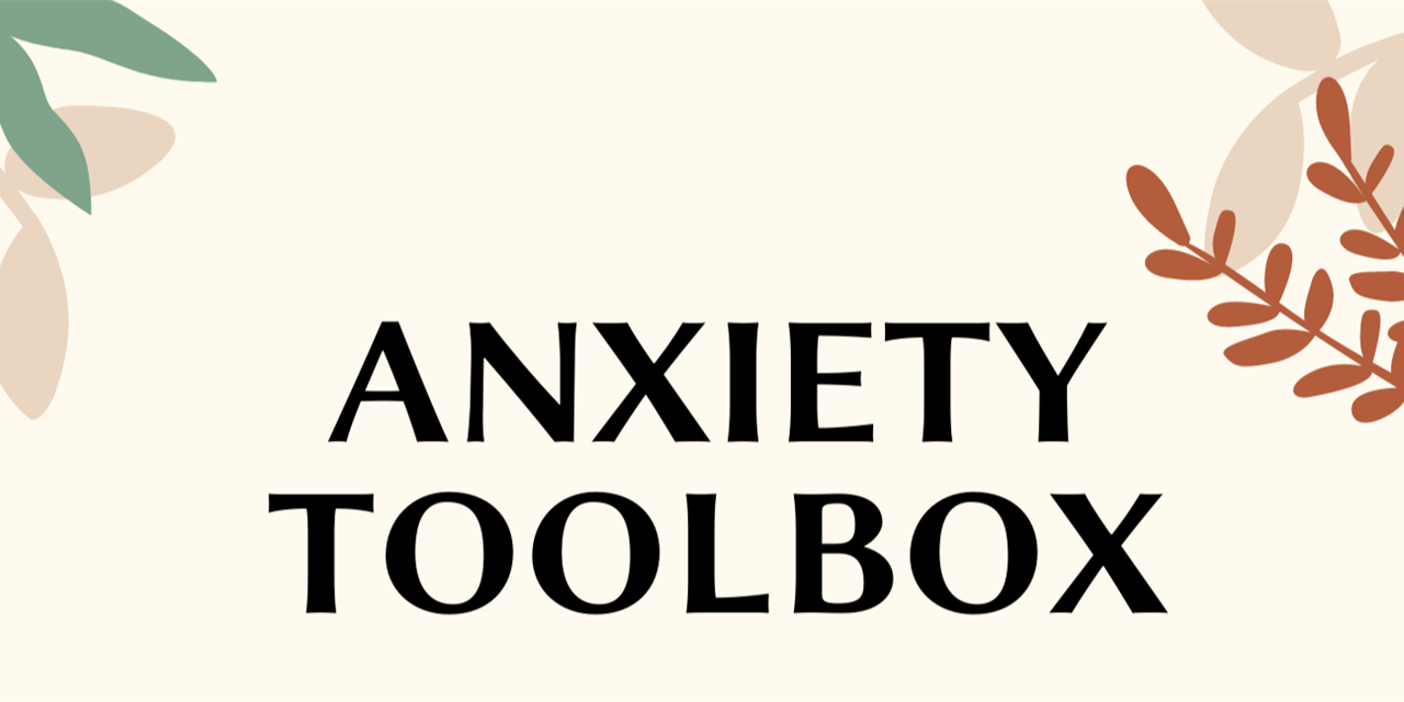Anxiety Toolbox Event Logo