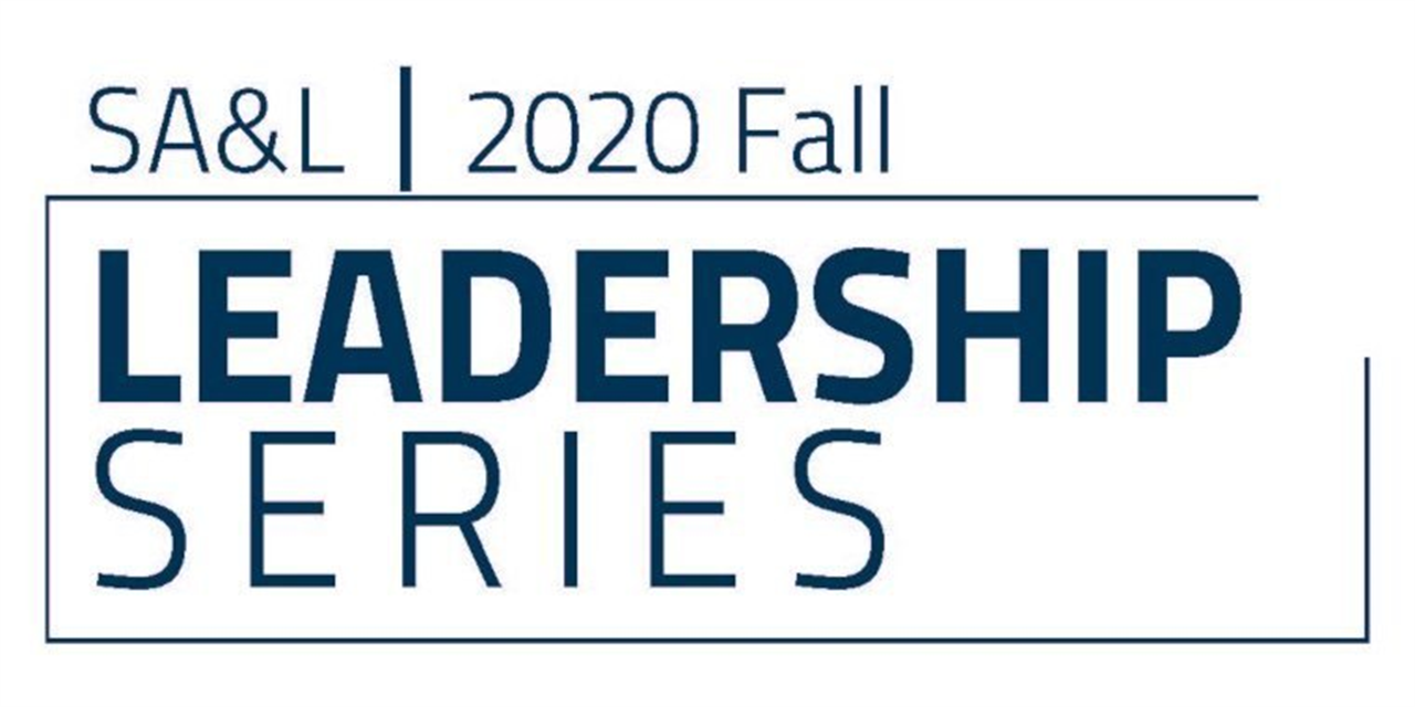 2020 Fall Leadership Series: Navigating Politics as a Student Leader Event Logo
