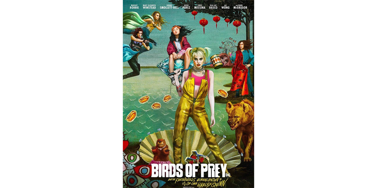 Birds of Prey: And the Fantabulous Emancipation of One Harley Quinn Event Logo