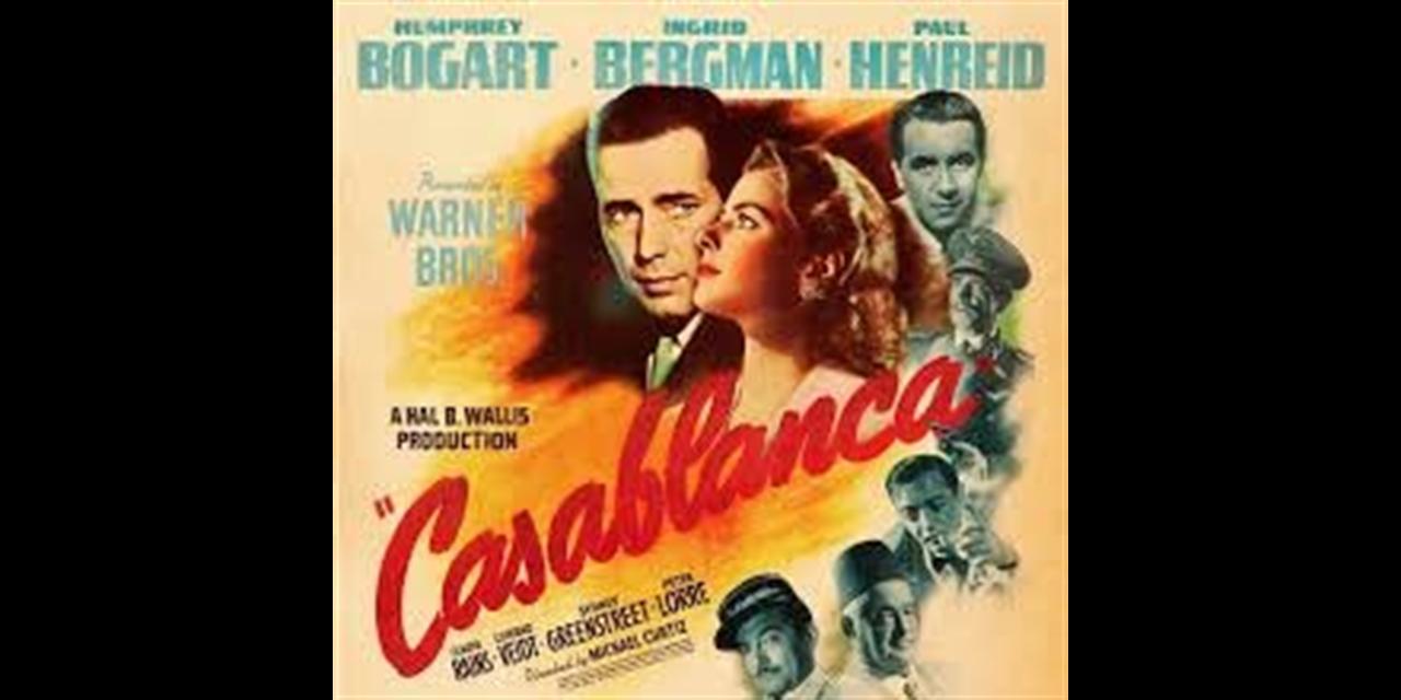 Casablanca (1942) - FREE ADMISSION Event Logo