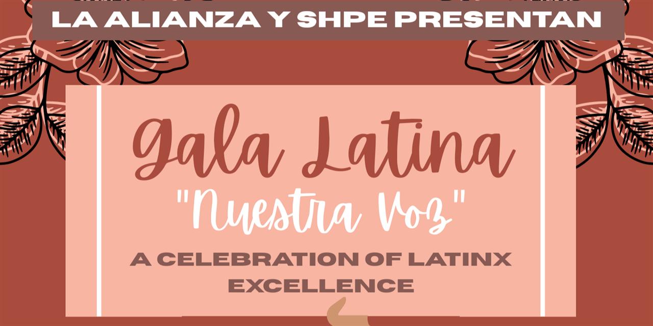 Gala Latina: Promoting Latinx Excellence Event Logo