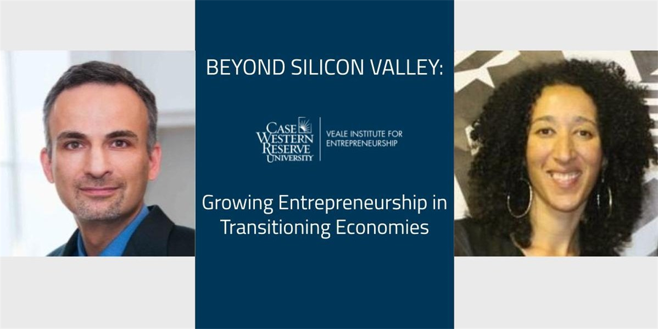 Beyond Silicon Valley: Anchor Institutions (Walid Jalabi, CWRU & Lana Franks, UWC) Event Logo
