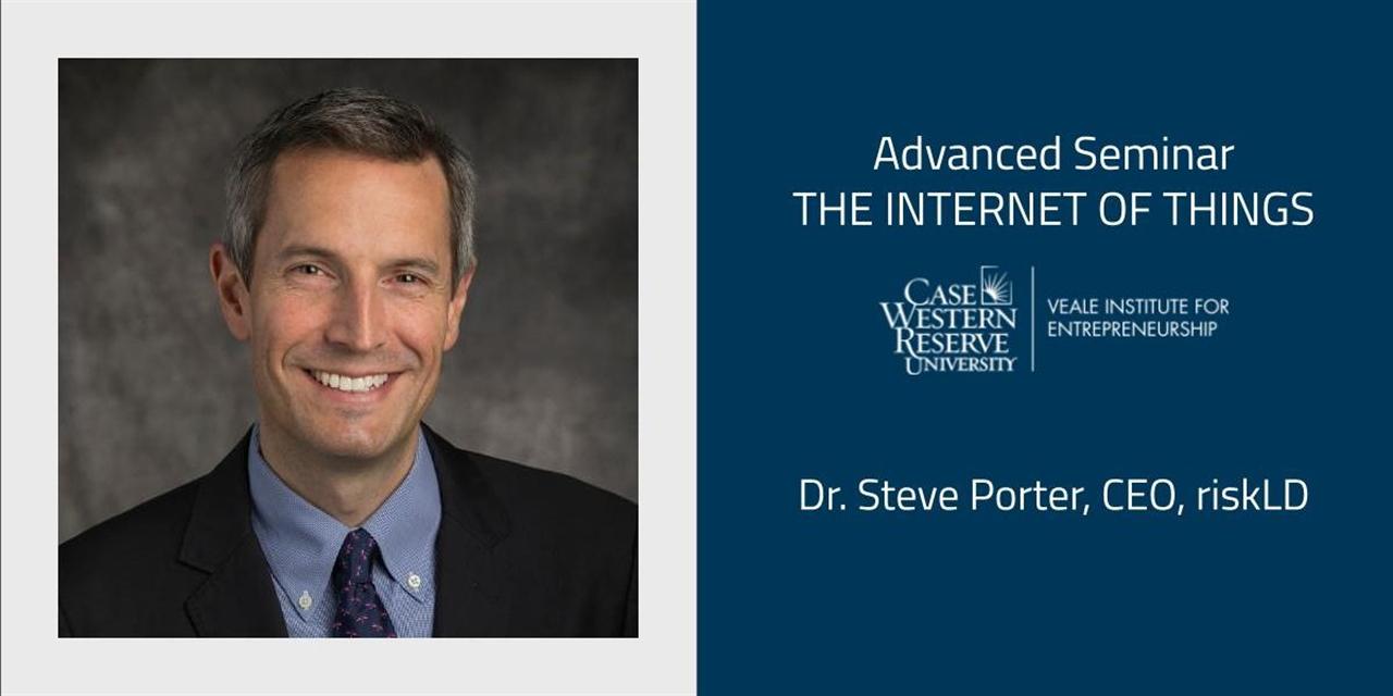The Internet of Things: Dr. Steve Porter, CEO, riskLD Event Logo