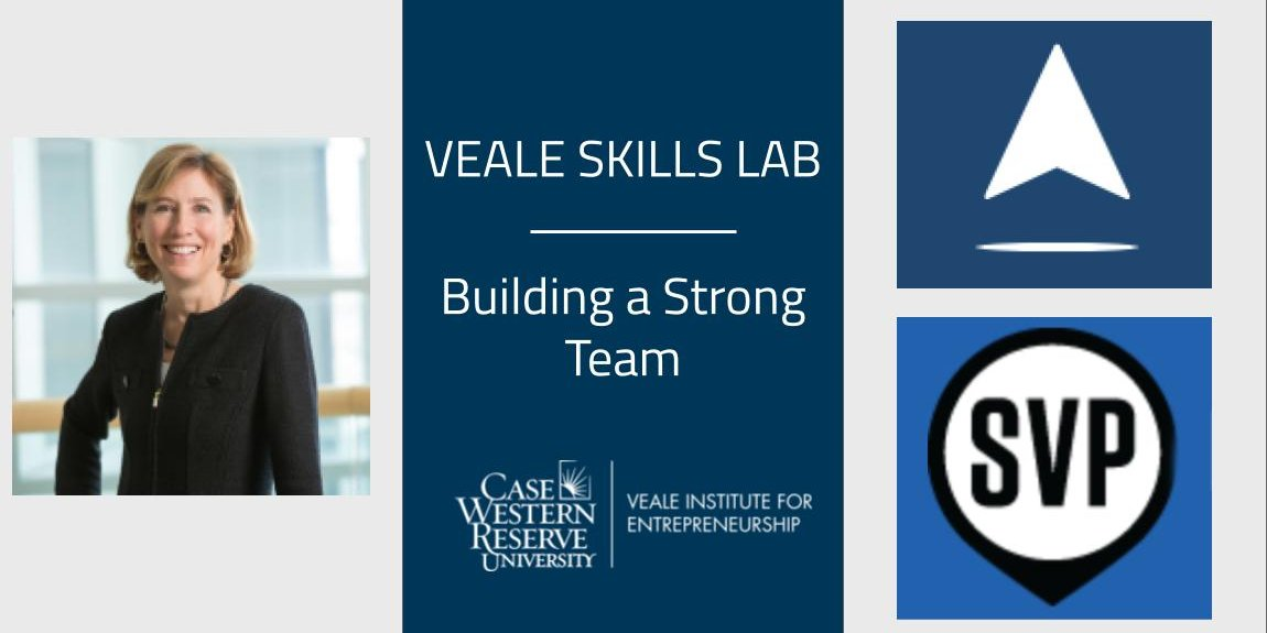 Building a Strong Team   Veale Skills Lab Event Logo