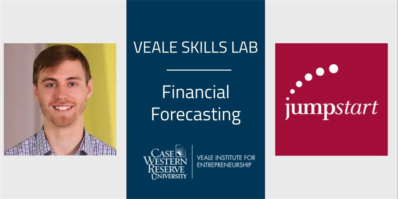 Financial Forecasting | Veale Skills Lab Event Logo