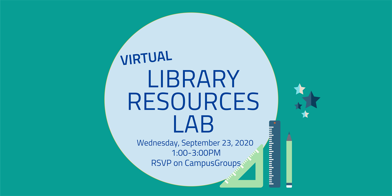 Science and Engineering Library Resources Lab Event Logo