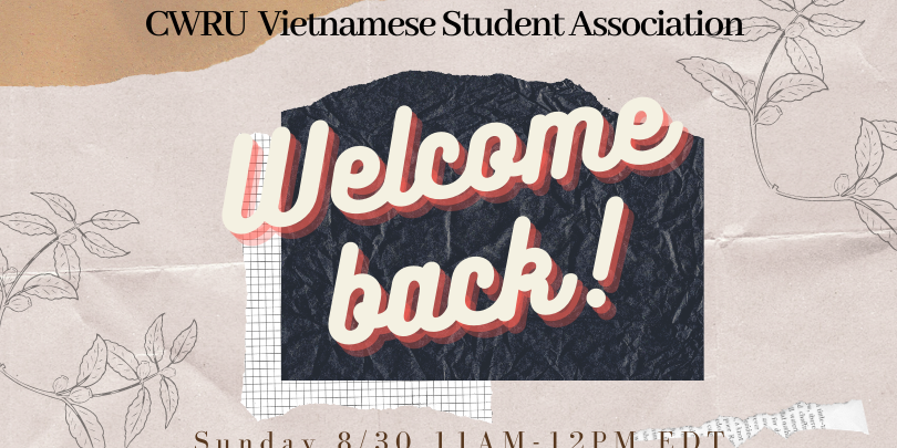 VSA Welcome Back Event Logo