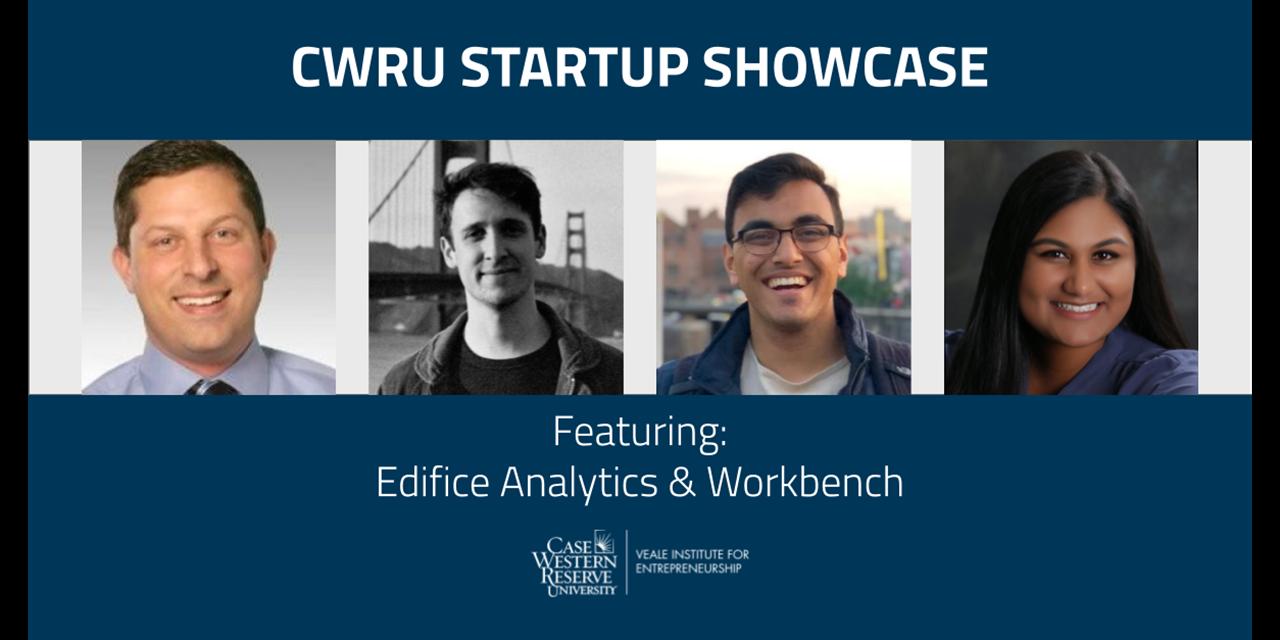 CWRU Startup Showcase: Edifice Analytics & Workbench Event Logo