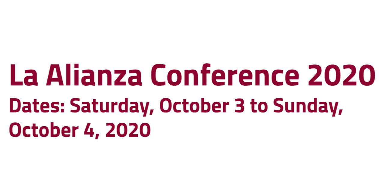 La Alianza Conference 2020 Event Logo