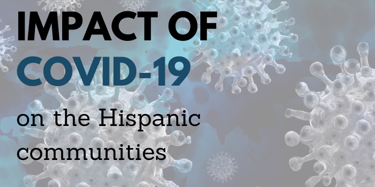 Impact of COVID-19 on the Hispanic communities Event Logo