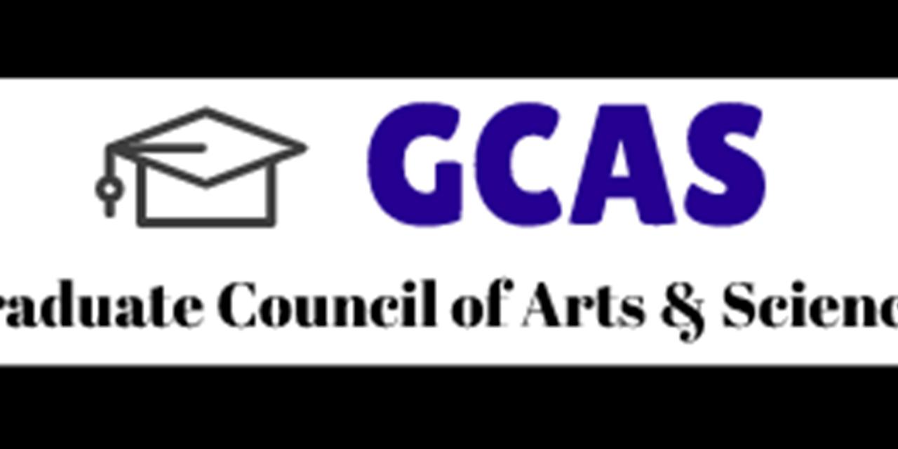 GCAS Zoom Writing Hour Event Logo