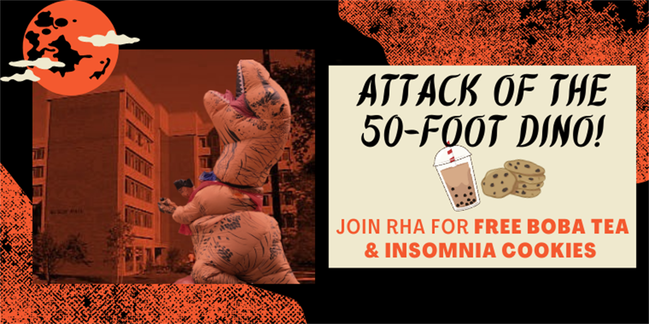 RHA on SRV: Attack of the 50-foot Dino! Event Logo