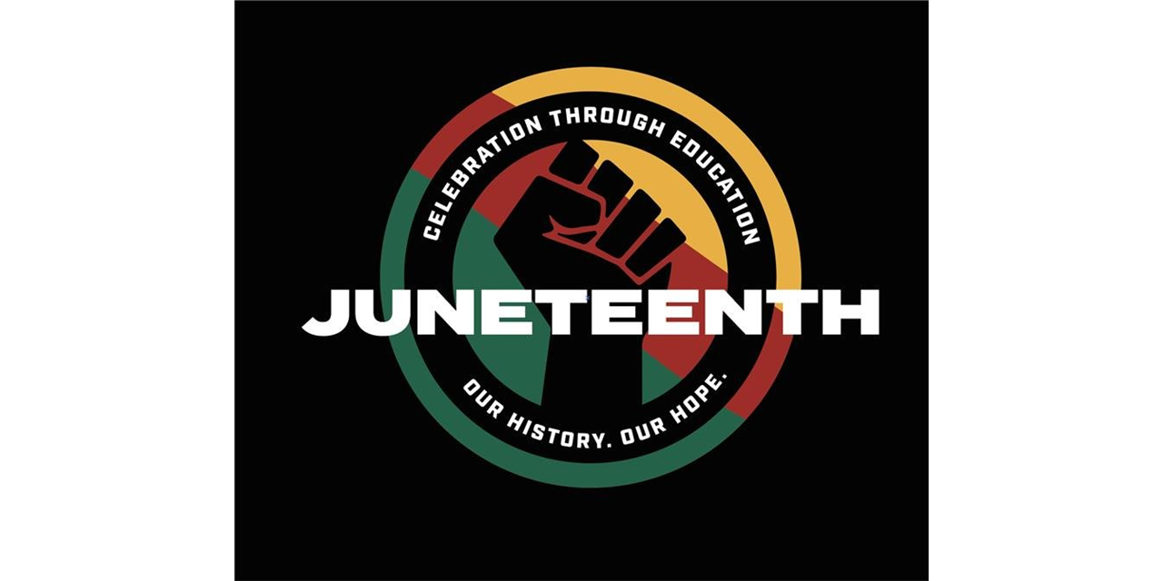 Shades of Freedom: A pre and post Juneteenth Conversation with Heather Burton and Robert Solomon Event Logo