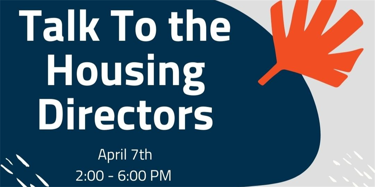 Talk to the Greek Housing Directos Event Logo