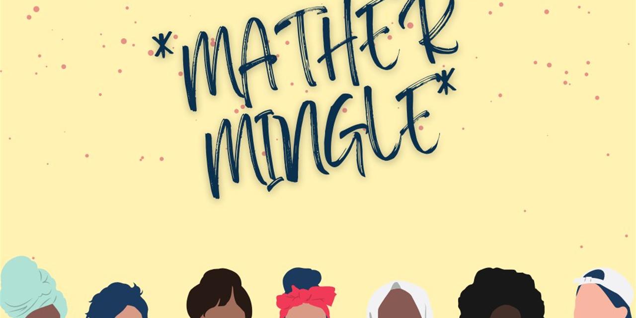 Mather Mingle Event Logo