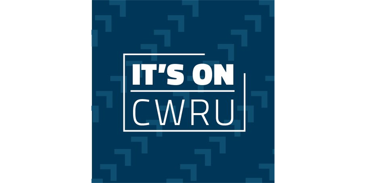 It's On CWRU: An Introduction to CWRU's Violence Prevention Campaign Event Logo