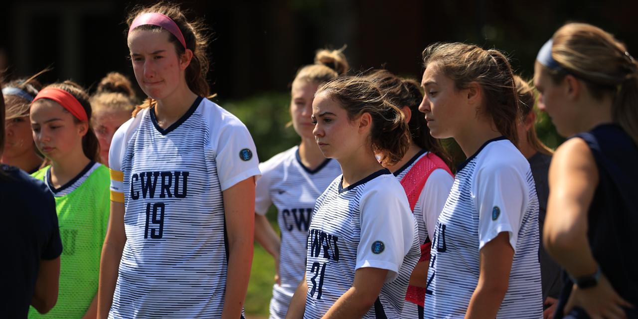 CWRU Women's Soccer vs. Muskingum Event Logo