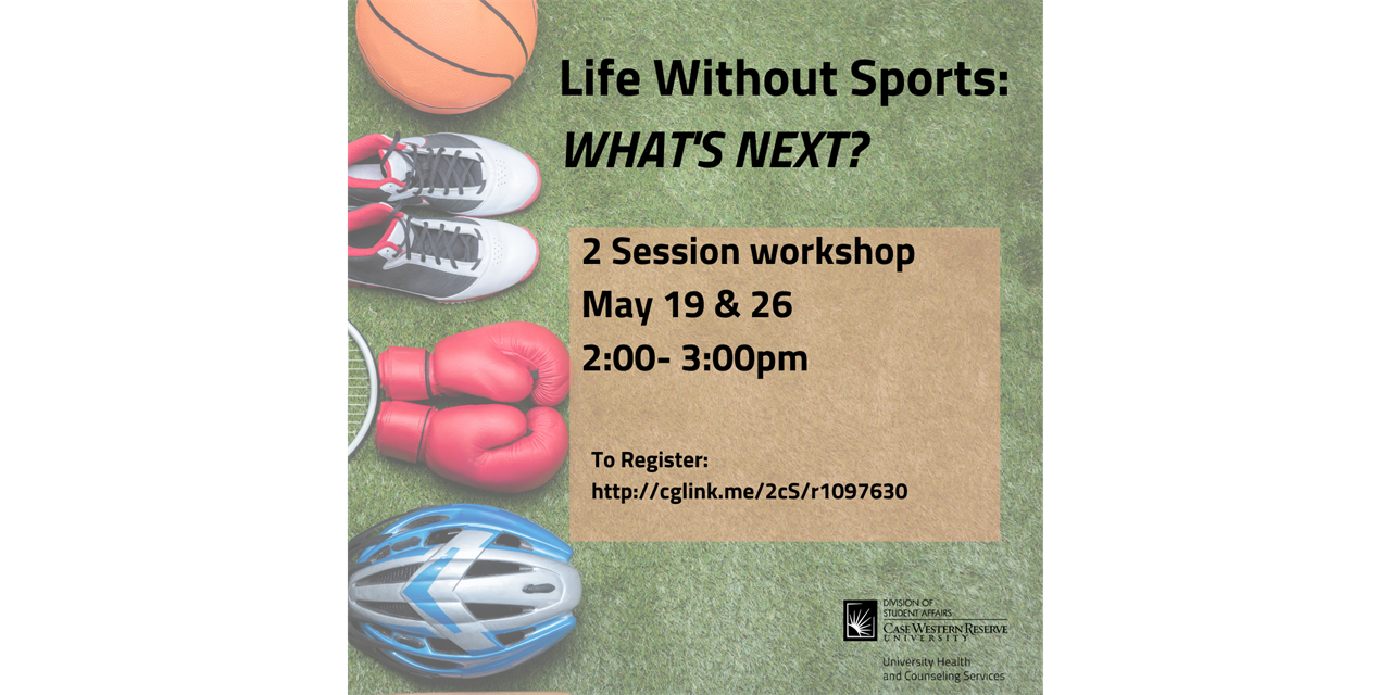 Life without sports: What's next? Event Logo
