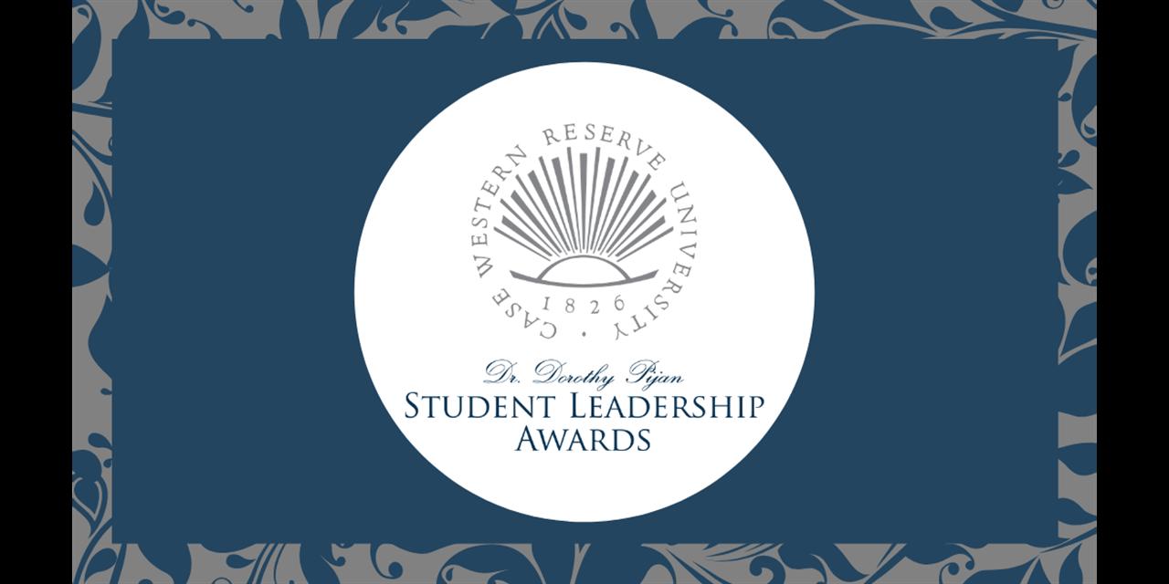 2021 Dr. Dorothy Pijan Student Leadership Awards Ceremony Event Logo