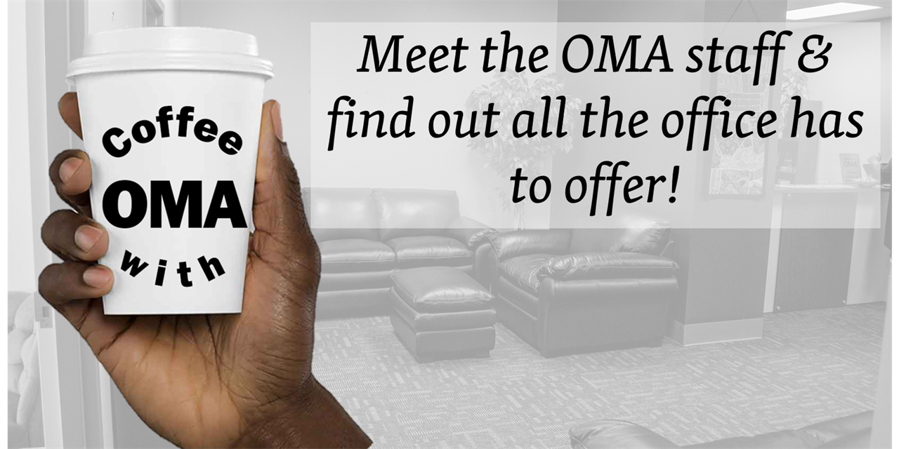 Coffee with OMA Staff Event Logo