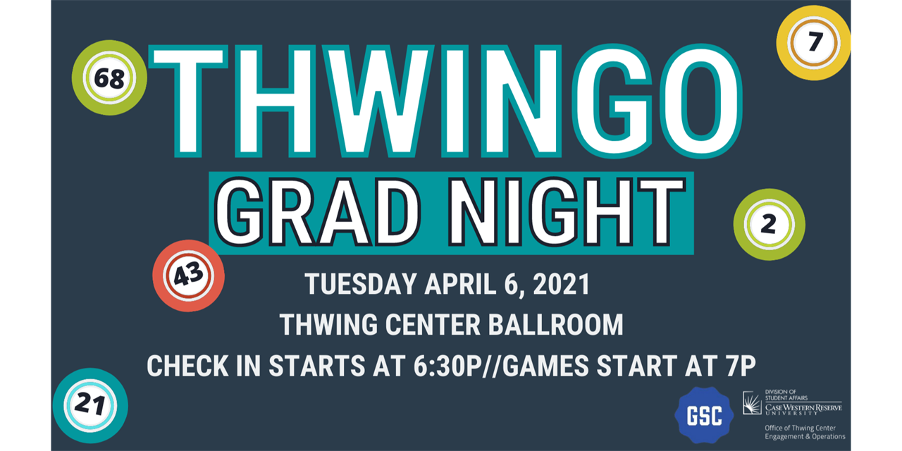 Thwingo Grad Night Event Logo