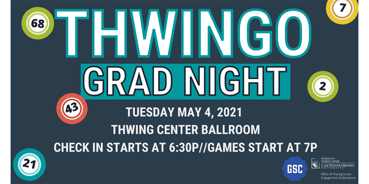 Thwingo Grad Night Event Logo