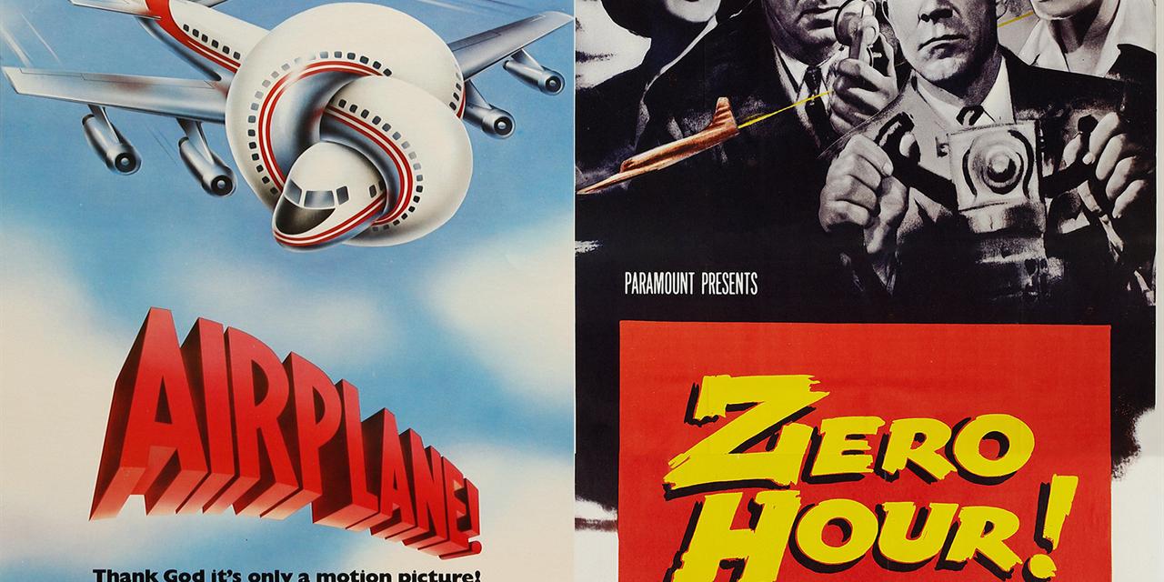 Airplane! (1980) & Zero Hour (1957) - DOUBLE FEATURE Event Logo