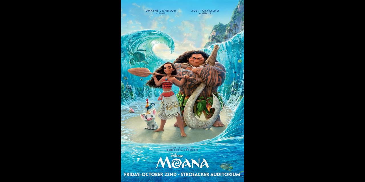 Moana (2016) Event Logo