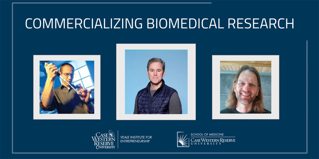 Opportunity Identification: A Case Study on Commercializing Biomedical Research | Seminar Series Event Logo