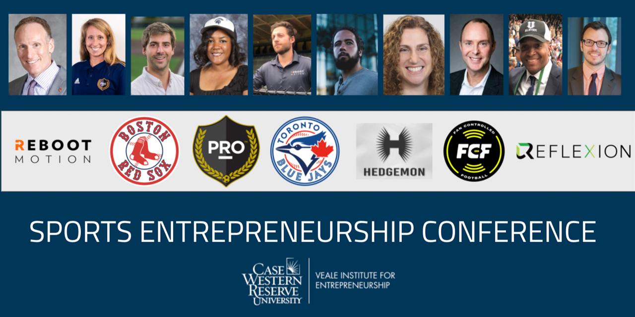 Sports Entrepreneurship Conference Event Logo