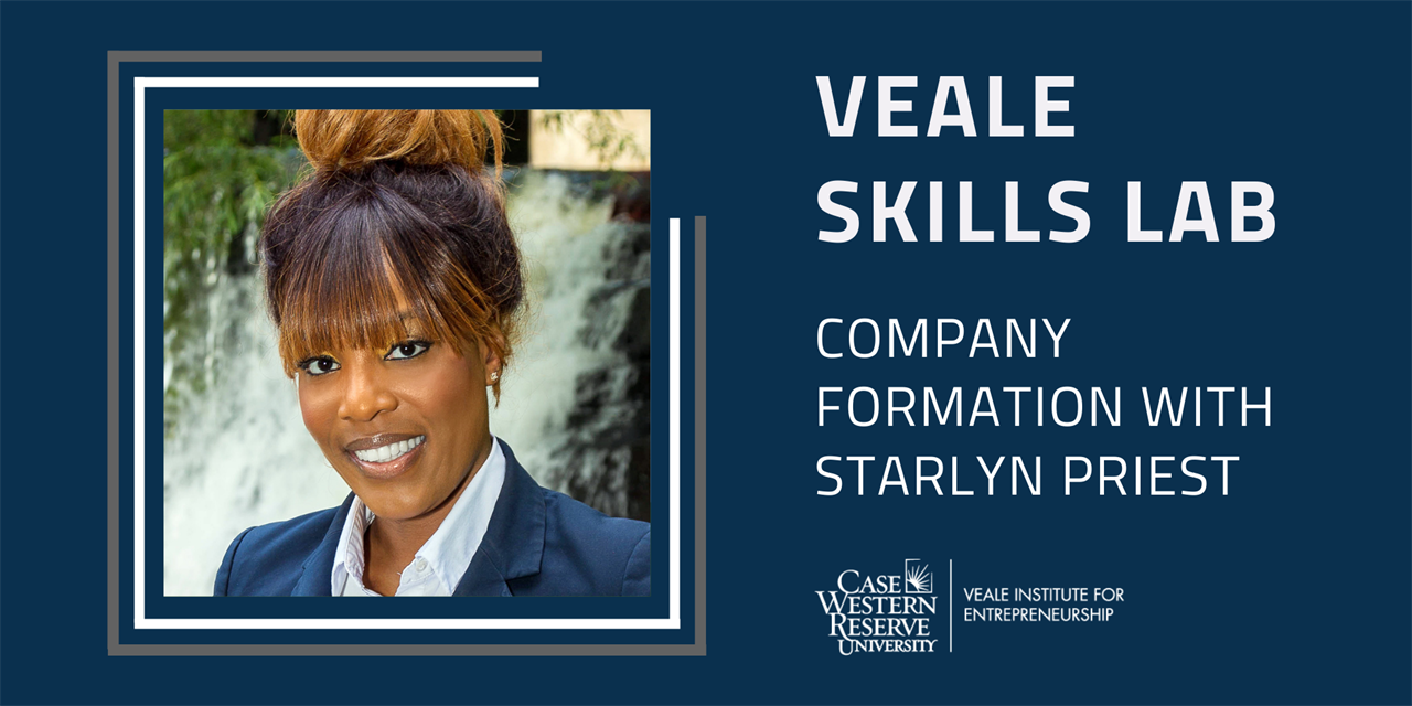 Company Formation | Veale Skills Lab Event Logo