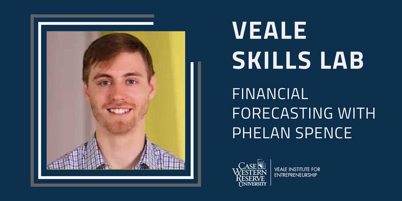 Financial Forecasting   Veale Skills Lab Event Logo