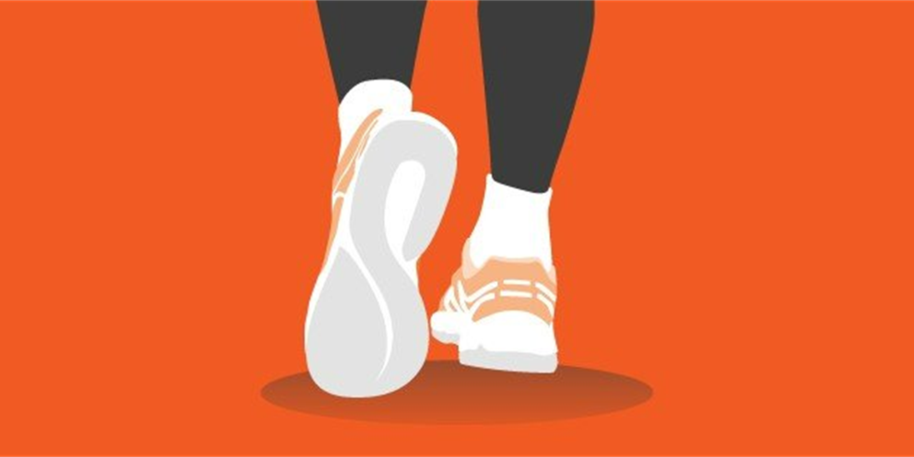 Walking Challenge with WHAM Event Logo