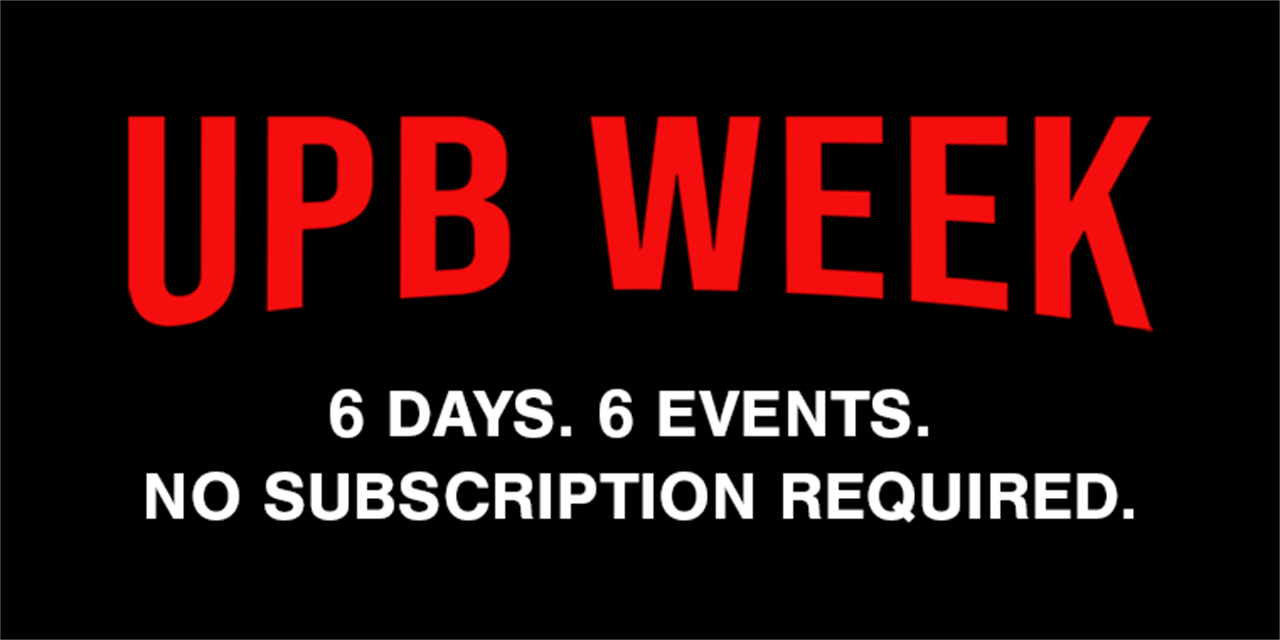 UPB Week: The Great UPBake-Off Event Logo