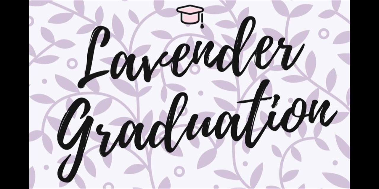 Lavender Graduation Event Logo