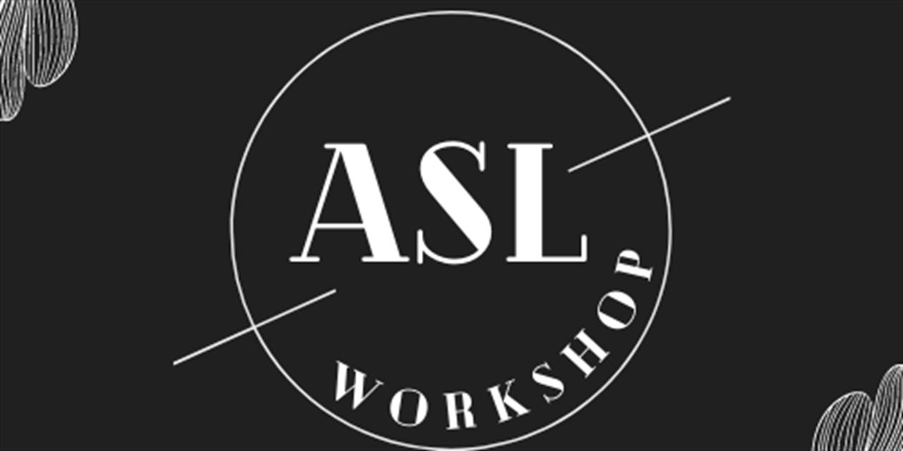 American Sign Language (ASL) Workshop with CWRU NSSLHA & CWRU Polyglot Event Logo