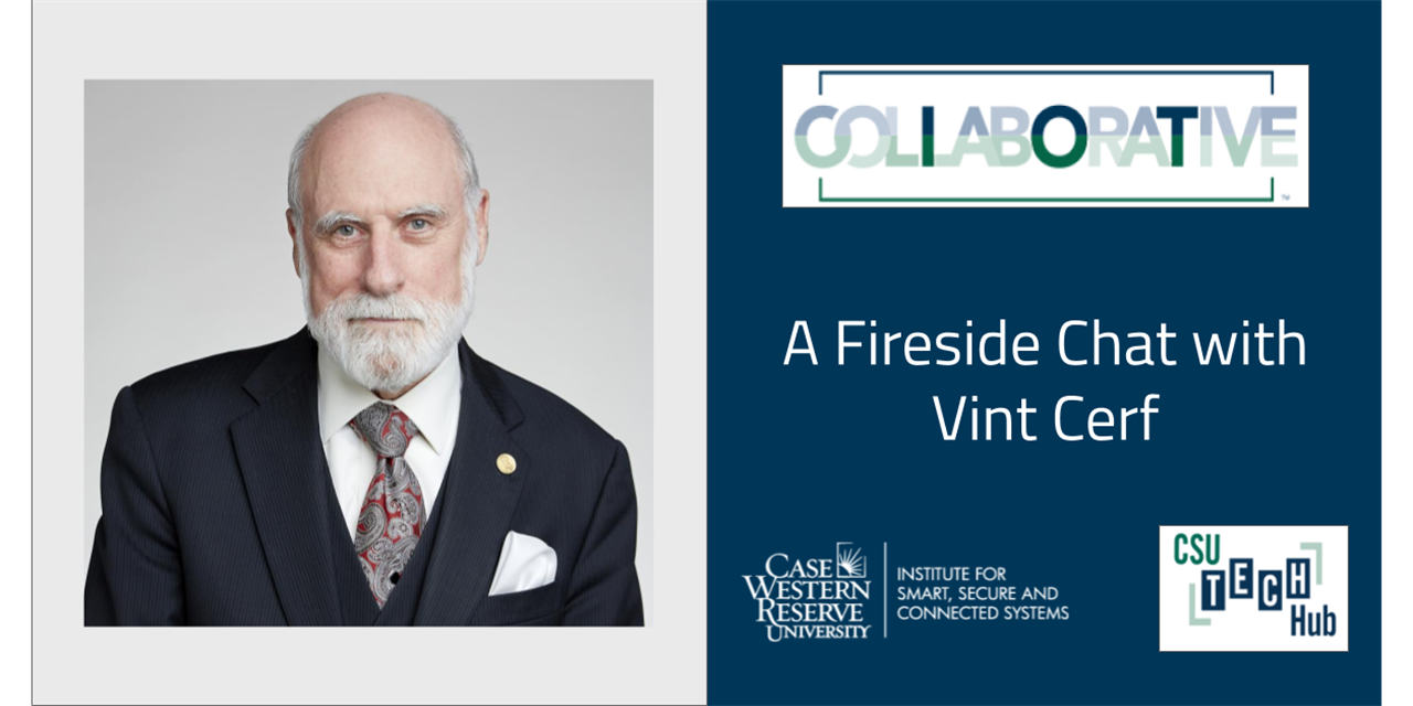 A Fireside Chat with Vint Cerf Event Logo